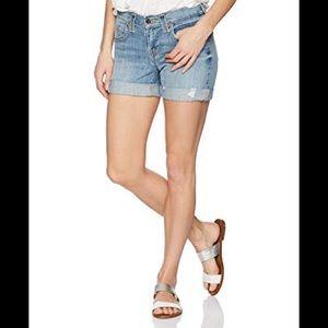 True Religion Jayde Boyfriend Jean Cutoff Shorts